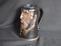 Give the Male, Good Strong Ale, Pottery Face Mug (4 of 5)