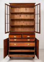 William IV Mahogany Glazed Bookcase (5 of 13)