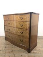 Edwardian Inlaid Mahogany Serpentine Chest of Drawers by Waring & Gillow (M-1489) (11 of 16)