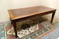 Large Mahogany Library Table /  Boardroom Table (7 of 8)