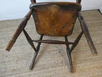Early 19th C English Comb Back Windsor Chair (6 of 7)