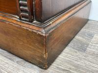 English Small Regency Style Dwarf Recessed Mahogany Open Bookcase (25 of 44)