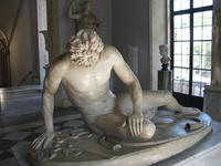 Beautiful Antique Dying Gaul / Gladiator Brass Sculpture (6 of 6)