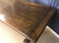 Large Oak Refectory Table (3 of 9)