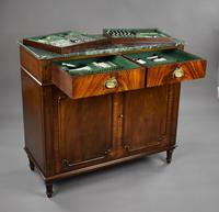 Antique Mahogany Cutlery Cabinet (8 of 16)
