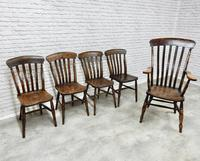 Combination Set of Windsor Dining Chairs (4 of 4)
