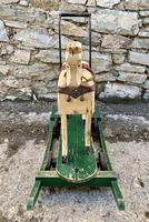 Antique Wooden Push Along Rocking Horse Toy (14 of 19)