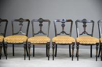 6 Victorian Aesthetic Movement Dining Chairs (5 of 13)