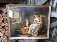 Original 19th Century Painting by W J Haynes