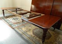 Large Mahogany Extending Dining Table (7 of 8)