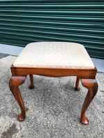 Antique Burr Walnut Dressing Table & Stool (5 of 10)