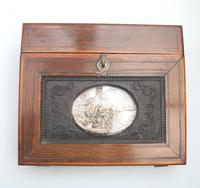 Extremely Rare & Fine Small Lap Desk & Full Internal Fittings Palais Royal 19th Century (6 of 13)