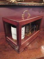 Antique Polished Mahogany Portable Barograph (2 of 9)