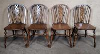 Set of Four Oak Windsor Chairs - Titchmarsh & Goodwin