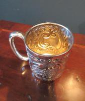 Edwardian Solid Silver Christening Mug (3 of 7)