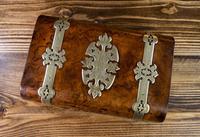 Burr Walnut & Brass Jewellery Box 1860 (14 of 14)