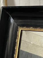 French Ebonised 19th Century Wall Mirror (14 of 16)