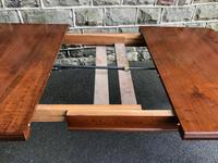 Antique Walnut Wind Out Extending Dining Table (11 of 13)