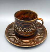 SylvaC Late 60's/early 70's 15 Piece 'totem' Pattern Coffee Set (7 of 10)