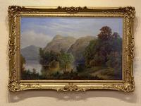 Fine Pair of Oils by Samuel Hart Turpin (3 of 4)