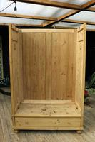 Fabulous & Large Old Pine 'Knock Down'  Double Wardrobe (13 of 15)