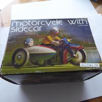 Chinese Tinplate Motorbike & Sidecar (10 of 11)