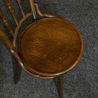 Set of Four Bentwood Chairs by Mundus and J+J Kohn LTD (8 of 9)