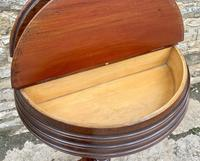 Victorian Walnut Adjustable Shaving Stand (12 of 17)