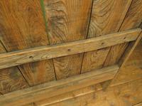 Antique Elm Tavern Bench Settle, Rustic Hall Seat (17 of 19)