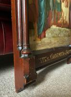 Large Gothic Oak Framed 19th Century Religious Old Master Oil Painting for TLC (11 of 14)