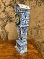 Rare 19th Century Dutch Delft Clock (5 of 8)