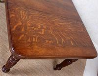 Oak Dining Table 6 Seater Victorian Wild Golden Oak 19th Century Solid (4 of 16)