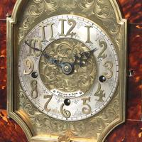 Tortoiseshell & Ormolu Mantel Clock (7 of 9)