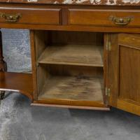 Victorian Walnut Washstand (4 of 9)
