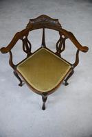 Edwardian Corner Chair (13 of 13)