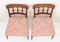Pretty Pair of Mahogany Regency Side Chairs (6 of 6)