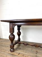 Antique Country Oak Dining Table (5 of 10)