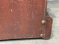 English Small Regency Style Dwarf Recessed Mahogany Open Bookcase (36 of 44)