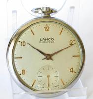 1940s Lanco Pocket Watch (2 of 4)
