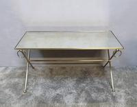 French Mid Century Brass Coffee Table (2 of 6)
