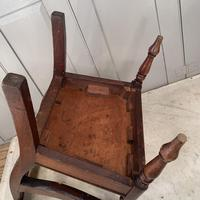 Antique Georgian Childs Mahogany Chair (8 of 10)