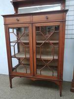 Edwardian Display Cabinet (4 of 6)