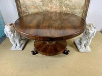 Large English Regency Rosewood Centre Table (2 of 6)
