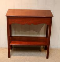 Mahogany Side Table (5 of 8)