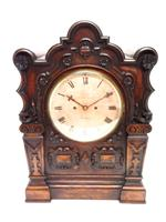 Antique English Twin Fusee Bracket Clock by Carter Cornhill London 8 Day Fusee Striking Mantel Clock (5 of 12)