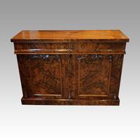 Victorian Burr Walnut Chiffonier Sideboard (4 of 9)