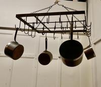 Blacksmith Made Iron Game Hanger, Kitchen Utensil or Pot Hanger (6 of 6)