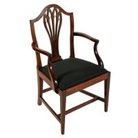 Set of Eight Hepplewhite Chairs (3 of 9)