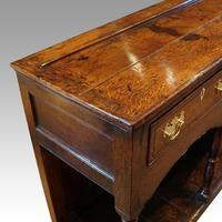 Georgian Oak Inlaid Dresser Base (4 of 11)