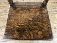 Set of Four 19th Century Oak Farmhouse Chairs (M-189) (10 of 17)